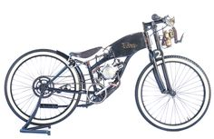 1950 lawn mower parts with 2 stroke engine board tracker, by Ian Roberts