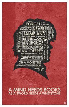 Game of Thrones  Tyrion Lannister Zitat Poster von OutNerdMe