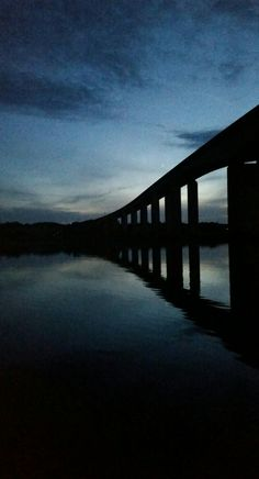 """See 46 photos and 8 tips from 289 visitors to Orwell Bridge. """"Bentley Be Inspired Awards bridge over the River Orwell estuary opened. Gcse Exams, Reflection Art, Over The River, Dusk, Bridge, Magic, Photography, Design, Fotografie"""