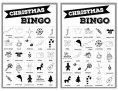 Christmas bingo holiday game for a Christmas party or classroom party activity. Christmas Bingo Printable, Christmas Bingo Cards, Christmas Board Games, Christmas Party Activities, Free Printable Cards, Holiday Games, Bingo Holiday, Preschool Christmas, Free Printables