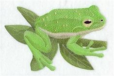 Machine Embroidery Designs at Embroidery Library! - Frogs