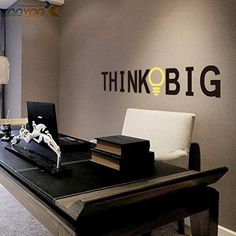 New Mirror Acrylic Removable Quote Wall Sticker Home Office Decor Art Mural