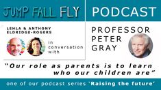 A fascinating and uplifting conversation with Professor Peter Gray to start our new podcast series. #podcasts #jumpfallfly #unschooling #worldschooling #parenting #education #rethinkingeducation #learning #talk #petergray #play #parents #ourfirstpodcast