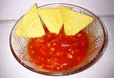 Salsa Nachos, Food And Drink, Chips, Fish, Meat, Ethnic Recipes, Lemonade, Potato Chip, Pisces