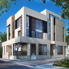 Apartments villa .... Even when you think if renting make it visually pleasing and user friendly .... 375m ... Al masayel ... Sarah sadeq architects