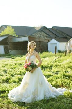 Vintage Farm Wedding Inspiration Part II