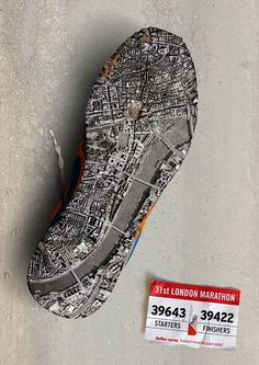 One of three brilliant print ads for Reflex Spray instant muscle pain relief, featuring the London, Berlin and New York marathons.