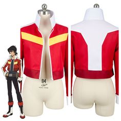 Voltron:Legendary Defender of the Universe Keith Akira Kogane Cosplay Costume Jacket Coat #Affiliate
