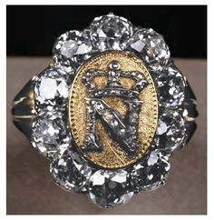 Napoléon's signet ring. Etienne Nitot (today: Chaumet) - c. 1809