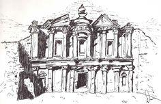 """Temple of Petra"" by Dan Potter"