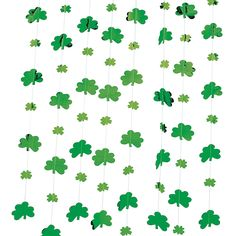 St. Patrick's Day Shamrock String Decorations - OrientalTrading.com