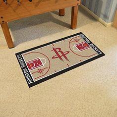 Amazon.com  Houston Rockets NBA Large Court Runner  Kitchen   Dining a7b22386cb6