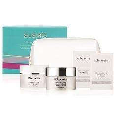 Elemis Prestige Pro-Collagen Gift Set.  From the depths of the Mediterranean Ocean, discover the anti-ageing power of padina pavonica with this award-winning trio to help smooth, plump and moisturise the face and eyes.  Shop at timetospa> http://bit.ly/YUiV2q