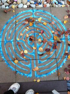 Autumn labyrinth