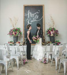Industrial Distillery Wedding Inspiration