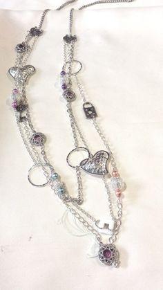 Silver Chain Necklace with Locket and Key - Nicnack's Nick-Nacks http://www.nicnacksnicknacks.com.au/store/c3/Necklaces.html