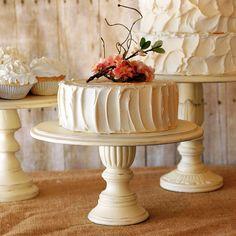 Pedestal Serving Cake Stands Set of 5 Any by RoxyHeartVintage, $340.00