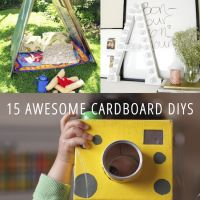 We all have them lying around, so why not put those cardboard boxes to good use with a great DIY?