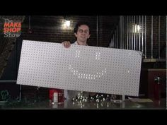 Check out the Giant DIY Light Bright on www.makeshopshow.com