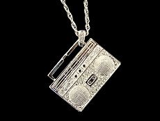 Boombox Bling Necklace