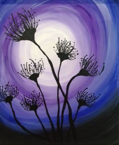 i think the emphasis is on the dandelion seeds because there up front and dark :shade odele