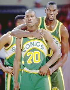 Gary Payton and Shawn Kemp.