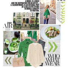 I love the Kelly Green jacket with an ivory shirt and jeans.