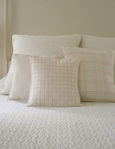 Molly's Sketchbook: Quilted ThrowPillows - Knitting Crochet Sewing Crafts Patterns and Ideas! - Purl Soho