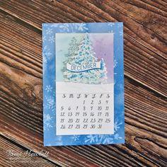 Desktop Calendars - November & December 2021 | Swimming In Stamps November Calendar, 2021 Calendar, December, Print Calendar, Calendar Pages, Desktop Calendars, Wood Dice, Single Tree, Embossing Folder