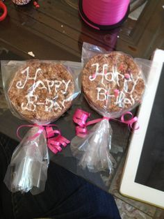 Healthy Birthday snack for school..use healthy cookie recipie alrady pinned