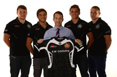 Partner Andy Perkins with the Exeter Chiefs Exeter Chiefs, Rugby, Pretty Boys, Activities, Sports, Tops, Fashion, Love, Hs Sports