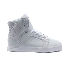 Supra High Shoes Skytop All White Women