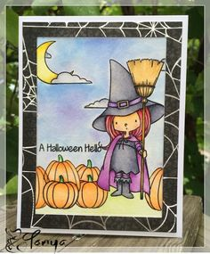 Paper of Many Colors: A Halloween Hello...MFT style