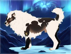 Lovecraft 2695 by TotemSpirit on DeviantArt Wolfdog Hybrid, Wolf Comics, Big Wolf, Wolf Drawings, Beast Creature, Fantasy Wolf, Wolf Design, Anime Wolf, Monster Design