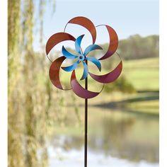 Metal Petals Wind Spinner | Wind Spinners | Wind & Weather