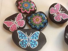 Butterfly rocks
