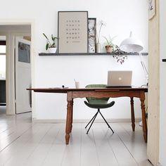 ❥ m y h o m e | #newhome #happyhome #workspace #vintage #vandijkenko #zuiver #omgchair