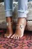 PARADISE ANKLETS SILVER