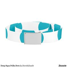 Deep Aqua Polka Dots Belt Available on many products! Hit the 'available on' tab near the product description to see them all! Thanks for looking!     @zazzle #art #polka #dots #shop #chic #modern #style #circle #round #fun #neat #cool #buy #sale #shopping #men #women #sweet #awesome #look #accent #fashion #clothes #apparel #earrings #headband #sunglasses #ties #belts #fingernail #black #white #color #blue #orange #green #yellow #purple #violet #lilac #aqua #light #dark #pink #red