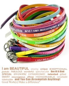 Wear a bracelet and make a difference. #goodworks #bracelet Valentine Day Gifts, Valentines, Wrap Bracelets, Cool Gifts For Teens, I Am Beautiful, Wonderful Things, Mommy Style, Happy Day, Apricot Lane