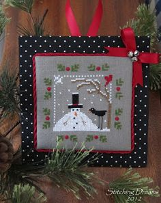 This cross-stitch pattern is a freebie! See the link on this blog.