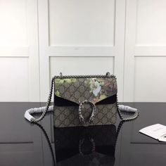 ebc0f0195 Gucci Dionysus GG Supreme mini bag 421970 Black