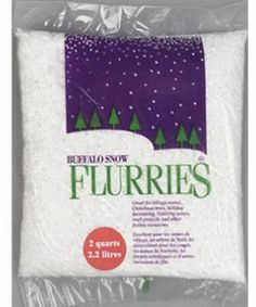 Buffalo Snow Flurries White Iridescent Flake Blend 2 Quarts * Want to know more, click on the image.