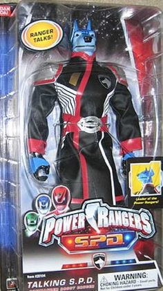 Action Figure Boxes - Power Rangers: Talking S.P.D.