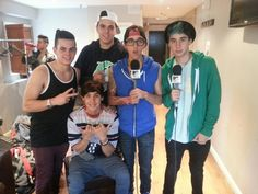 The Janoskians (Luke, Jai, Beau, James and Daniel)
