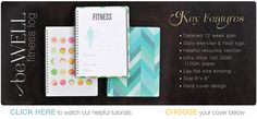 Fitness Log and Food Tracker Journals