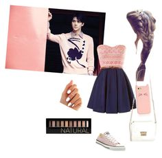 """Love Me Right"" by sy223 ❤ liked on Polyvore featuring Converse, Kate Spade, Forever 21, love, EXO and Sehun"