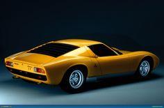 Lamborghini Miura SV - 3/4 rear