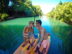 Itinerary for Austin Texas - Kayaking and Paddle Boarding in Austin by Ladybird Lake