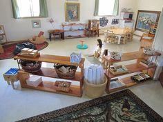 Toddler room at Montessori School of Maui